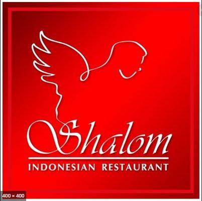 shalom restaurant mascot logo -